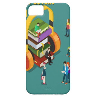 February is Library Lovers' Month Appreciation Day iPhone 5 Case