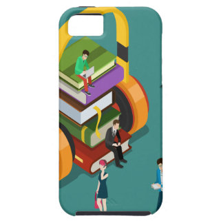 February is Library Lovers' Month Appreciation Day iPhone 5 Covers