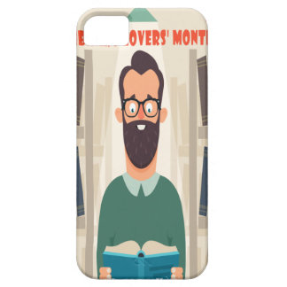 February - Library Lovers' Month Appreciation Day iPhone 5 Cover
