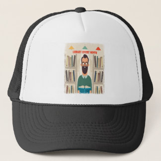 February - Library Lovers' Month Appreciation Day Trucker Hat