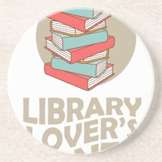 February - Library Lovers' Month Coaster