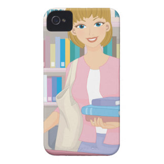 February - Library Lovers' Month iPhone 4 Covers