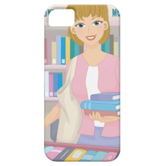 February - Library Lovers' Month iPhone 5 Case