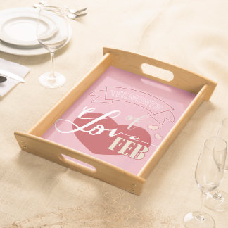 February - Month of love Serving Platter