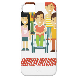 February - North American Inclusion Month iPhone 5 Covers