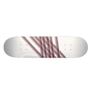February Print 6 Deck 21.6 Cm Skateboard Deck