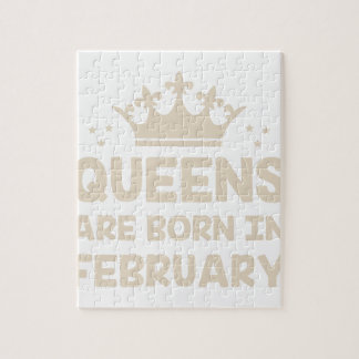 February Queen Jigsaw Puzzle