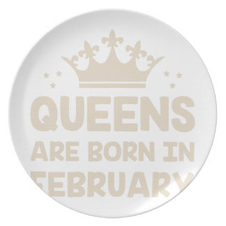 February Queen Plate