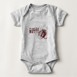 FEBRUARY-SQUIRREL BABY BODYSUIT