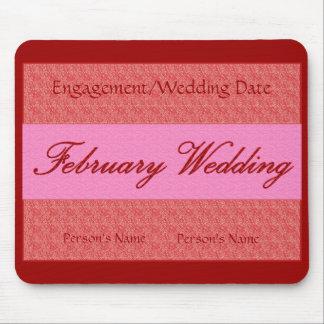"""""""February Wedding"""" Mousepad -Customizable"""