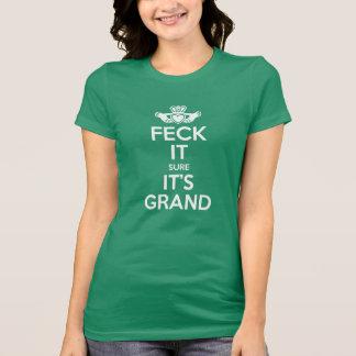 Feck It - Claddagh T-Shirt