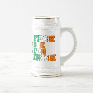 Feck Me I'm Irish Beer Steins