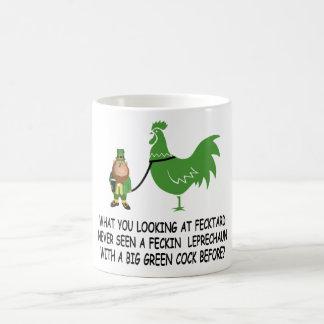 Feckin Irish fecktard Basic White Mug