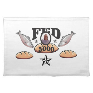 fed 5000 lord placemat