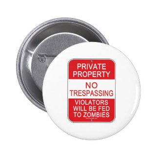Fed To Zombies Button