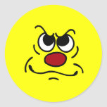 Fed Up Smiley Face Grumpey