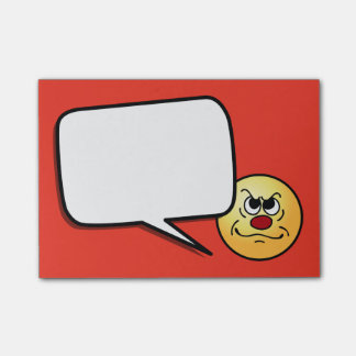 Smiley Face Images Post-it® Notes - Sticky Notes | Zazzle ...