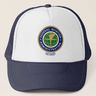 Federal Aviation Administration Retired Trucker Hat