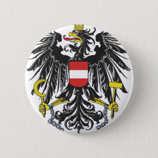 Federal eagle Austria 6 Cm Round Badge