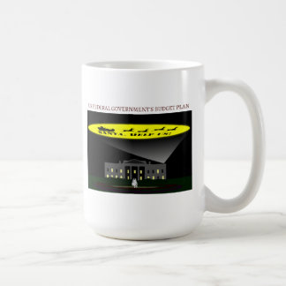 Federal Government Budget Basic White Mug