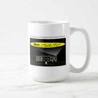 Federal Government Budget Coffee Mugs