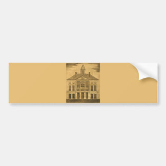 Federal Hall, N.Y., Inauguration Bumper Sticker