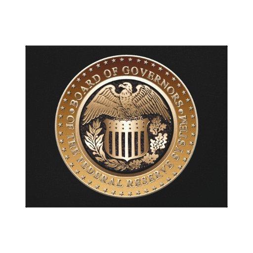 Federal Reserve Canvas Prints