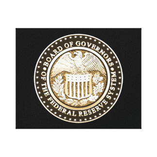 Federal Reserve Stretched Canvas Prints