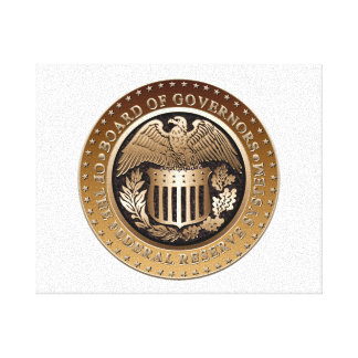 Federal Reserve Stretched Canvas Print