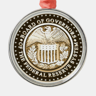 Federal Reserve Christmas Ornaments