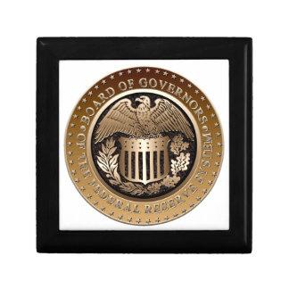 Federal Reserve Keepsake Box
