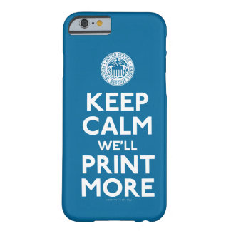 Federal Reserve Keep Calm Parody Case Barely There iPhone 6 Case
