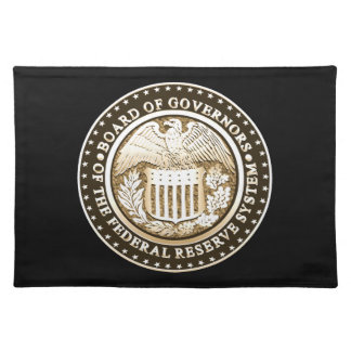 Federal Reserve Placemats
