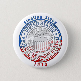Federal Reserve System 6 Cm Round Badge