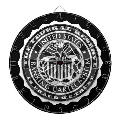 Federal Reserve Vulture Seal Dart Board Sets
