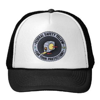 Federal Safety Yellow Cap