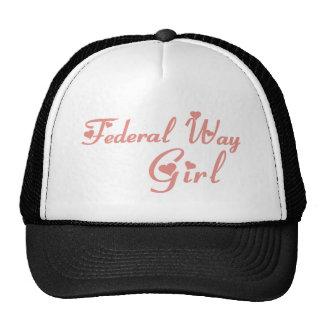 Federal Way Girl tee shirts Hats