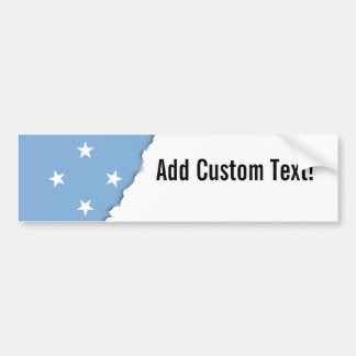 Federated StATES of Micronesia Flag Bumper Sticker
