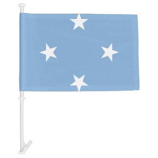Federated StATES of Micronesia Flag Car Flag