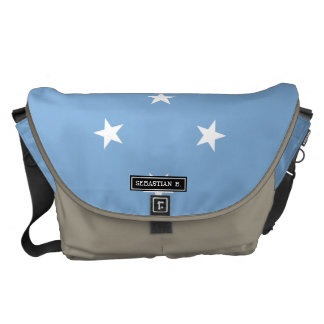 Federated StATES of Micronesia Flag Commuter Bag