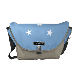 Federated StATES of Micronesia Flag Commuter Bags