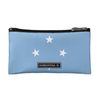 Federated StATES of Micronesia Flag Makeup Bag