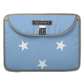 Federated StATES of Micronesia Flag Sleeves For MacBooks