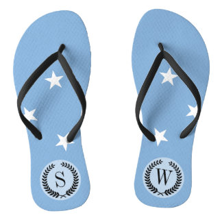 Federated StATES of Micronesia Flag Thongs