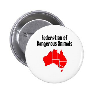 Federation of Dangerous Animals Buttons
