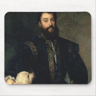 Federigo Gonzaga, Duke of Mantua, c.1525-30 (oil o Mouse Pads