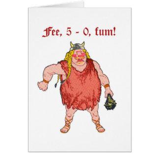 Fee, 5 - 0 card