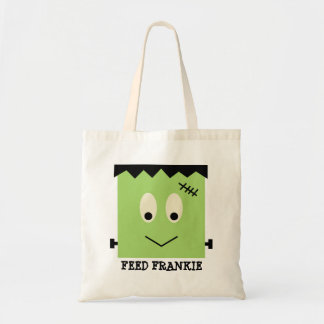 Feed Frankie green Halloween candy trick or treat