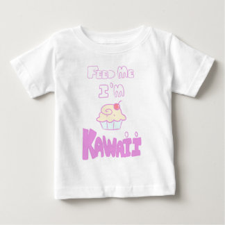 feed kawaii cupcake baby T-Shirt