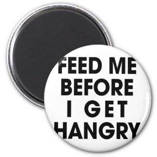 Feed Me 6 Cm Round Magnet
